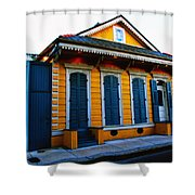 New Orleans Creole Cottage Shower Curtain