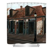 New Orleans Familiar Site Before Shower Curtain