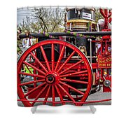 New Orleans Fire Department 1896 Shower Curtain