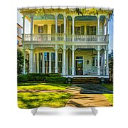 New Orleans Home - Paint Shower Curtain