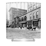 New Orleans Hotel, C1900 Shower Curtain