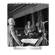 New Orleans Jazz Orchestra Shower Curtain