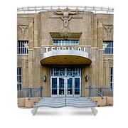 New Orleans Lakefront Airport Shower Curtain
