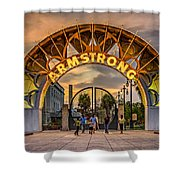 New Orleans Louis Armstrong Park  2 Shower Curtain
