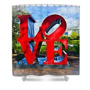 New Orleans Love 2 Shower Curtain