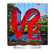 New Orleans Love 3 Shower Curtain