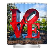 New Orleans Love Shower Curtain