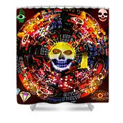 New Orleans Night Shower Curtain