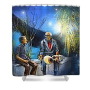 New Orleans Nights 02 Shower Curtain
