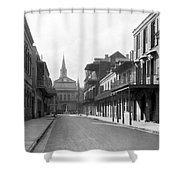 New Orleans Old French Quarter Shower Curtain
