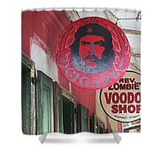 New Orleans Shops Shower Curtain