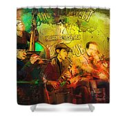 New Orleans Spotted Cat 03 Madness Shower Curtain