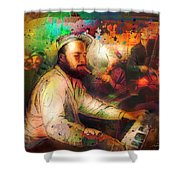 New Orleans Spotted Cat 05 Madness Shower Curtain