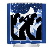 New Orleans Vintage Jazz And Heritage Festival 1980 Shower Curtain