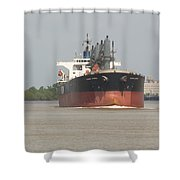 New Orleans Visitior On The Mississippi Shower Curtain