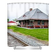 New Oxford Depot 2558 Shower Curtain
