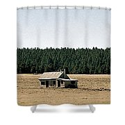 New Photographic Art Print For Sale Americana Arizona Shack Shower Curtain