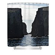 New Photographic Art Print For Sale Californian Channel Islands And Pacific Ocean Shower Curtain