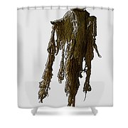 New Photographic Art Print For Sale   Day Of The Dead Skeleton On A Stick Shower Curtain
