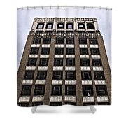 Vacant Downtown Building Los Angeles 3 Shower Curtain