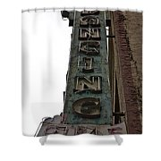 Dancing Girls Sign Downtown Los Angeles  Shower Curtain