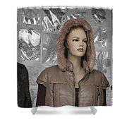 New Photographic Art Print For Sale Downtown Los Angeles 8 Shower Curtain