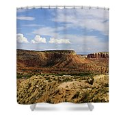 Ghost Ranch Landscape New Mexico 12 Shower Curtain