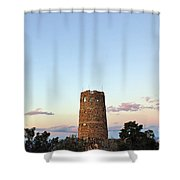 New Photographic Art Print For Sale Indian Watchtower At Grand Canyon Shower Curtain