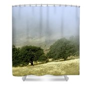 Mist In The Californian Valley Shower Curtain
