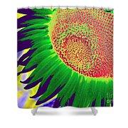 New Photographic Art Print For Sale Pop Art Sunflower 2 Shower Curtain