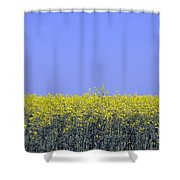 New Photographic Art Print For Sale Yellow English Fields 2 Shower Curtain