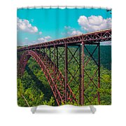 New River Gorge Shower Curtain