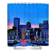 New Seattle Day Shower Curtain