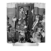 New Site For Clay-liston Fight Shower Curtain