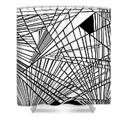 New Times Shower Curtain