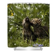 New Voices Shower Curtain