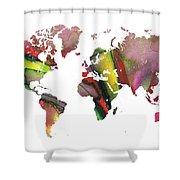 New World Order Shower Curtain