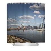 New World Trade Center Shower Curtain