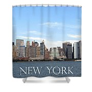 New York As I Saw It In 2008 Shower Curtain