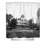 New York Berkley Hotel Shower Curtain