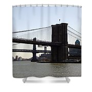 New York Bridge 5 Shower Curtain