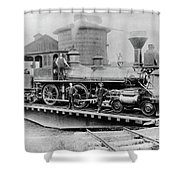 New York Central, 1880 Shower Curtain