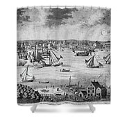 New York City, 1717 Shower Curtain