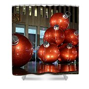 New York City Baubles 2 Shower Curtain