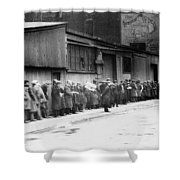 New York City Bread Line Shower Curtain
