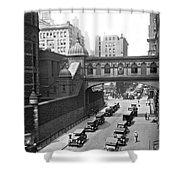 New York City Bridge Of Sighs Shower Curtain