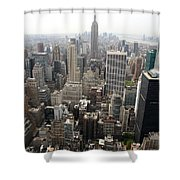 New York City Canyons Shower Curtain