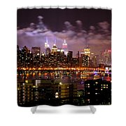 New York City Celebrates Shower Curtain