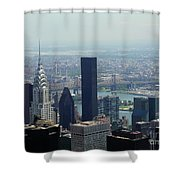 New York City Chrysler Building Shower Curtain