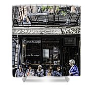 New York City Faces - Another Look Shower Curtain